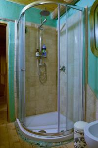 A bathroom at Casa della Casa