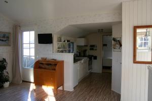 Ett kök eller pentry på Utmelandsvägen 26