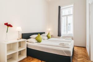 Ліжко або ліжка в номері Duschel Apartments Imperial Living