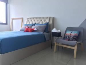 A bed or beds in a room at Setia Convention@ Comfy Room 3