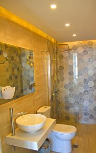 Ein Badezimmer in der Unterkunft Castello Apartments