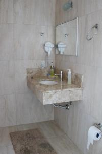 A bathroom at Solar do Centro