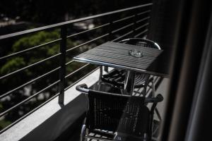 Un balcón o terraza de Austral Suites