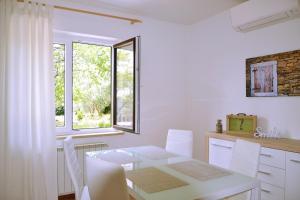 Postelja oz. postelje v sobi nastanitve Apartment Istrian view