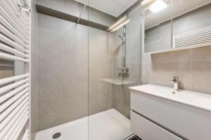 A bathroom at Apartment Mighi 02.02
