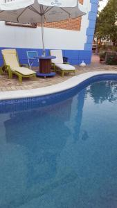 The swimming pool at or near Mulsum