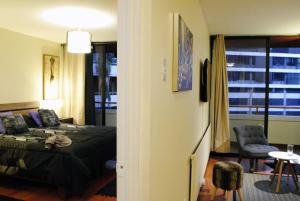 Zona de estar de Apartamento Living Paris