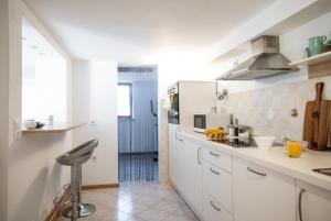 A kitchen or kitchenette at Nauportus