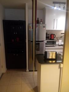 Una cocina o zona de cocina en Departamento Amoblado Puerto Montt