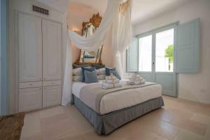 Cama ou camas em um quarto em Lamacerase Residenze