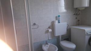 A bathroom at Apartment & Cottage Paliska