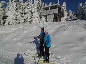 Haus Cäcilie im Winter