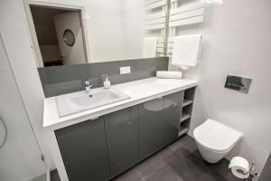 Vonios kambarys apgyvendinimo įstaigoje Sewa Apt.