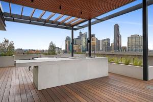 A balcony or terrace at Arise The Eminence