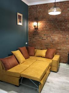 Гостиная зона в Apartment Kutaisi BeBe