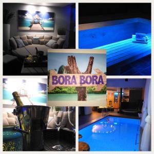 The swimming pool at or near B&B Bora Bora