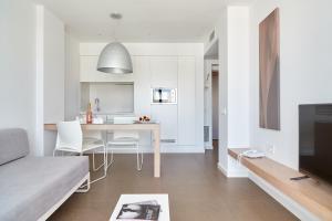 Svetainės erdvė apgyvendinimo įstaigoje Ibiza Sun Apartments