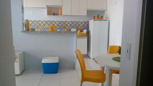 A kitchen or kitchenette at Apartamento Pleno