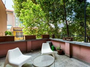 A balcony or terrace at easyhomes - Piola Bazzini