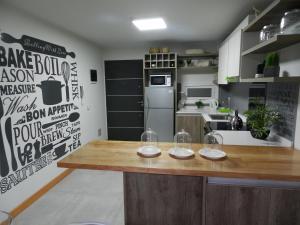 Una cocina o kitchenette en Umain