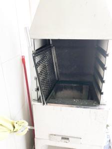 A kitchen or kitchenette at Ed fabio remodelado aconchegante