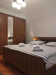 A bed or beds in a room at Karla