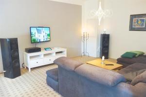 TV/Unterhaltungsangebot in der Unterkunft Ferienwohnung Rossberg