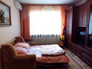 Гостиная зона в Apartment on Gagarina 49