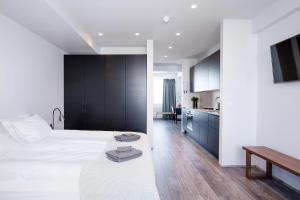 A room at Svala Apartments