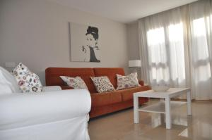 A seating area at Apartment Canteras Beach Anadela