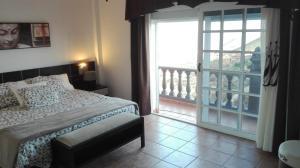 Cama o camas de una habitación en Chalet En Sur De Tenerife
