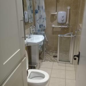 A bathroom at city centre dublin house