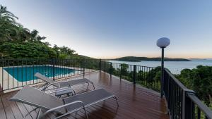The swimming pool at or near Pineapple House Whitsundays