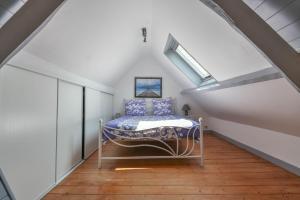 Un ou plusieurs lits dans un hébergement de l'établissement Gîtes Casalé Di Vito