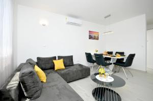 Posezení v ubytování Apartment Adrian II