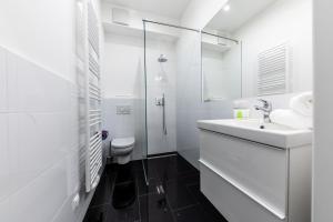 Ein Badezimmer in der Unterkunft Easy Vienna 05