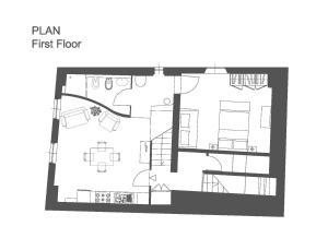 Deluxe Romantic Apartment平面圖