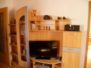 A television and/or entertainment center at Apartment Hartwich