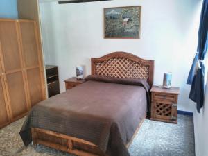 Cama o camas de una habitación en Departamento 1