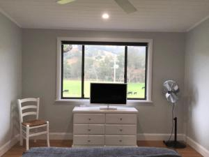A television and/or entertainment center at Bobby's Country Rental