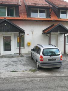 Bygningen som leiligheten ligger i