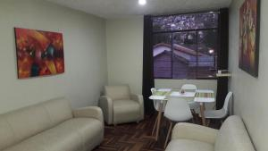 Zona de estar de Departamento en Cusco