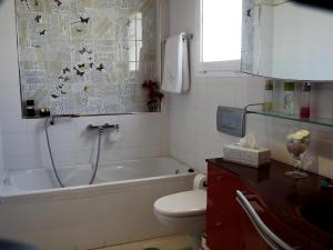 Een badkamer bij Holiday Home Villa Fonzie Montaña La Data