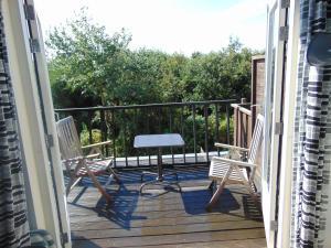 Balcon ou terrasse dans l'établissement villa Flore