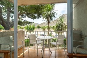 A balcony or terrace at Apartamentos Massol