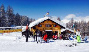 La Capannina during the winter