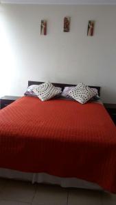 Cama o camas de una habitación en Departamento Sol de Independencia