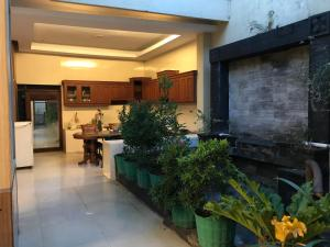 The lobby or reception area at U-Nice Residence,15 beds ENTIRE HOUSE,city central Jogja