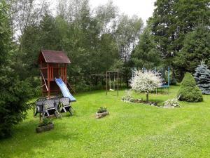 A garden outside Pension u Adršpachu - Dana Tyšerová