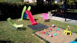 De kinderspeelruimte van Katerina Apartments